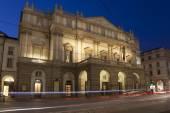 La scala opera house, milano, lombardia, italia — Foto Stock