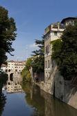 Sottoriva river, Mantova, Lombardy, Italy — Foto Stock