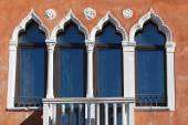 Windows in Venice, Veneto, Italy — Stock Photo
