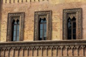 Windows in Mantova, Lombardy, Italy — Stock Photo