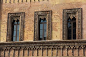 Windows in Mantova, Lombardy, Italy — Foto Stock