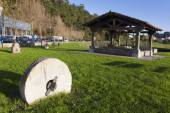 Mill of tides, Plentzia, Bizkaia, Basque Country, Spain — Stock Photo