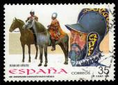 Juan de Onate, the spanish conquistador — Stock Photo