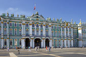 Winter Palace and Hermitage museum in Saint Petersburg, Russia — Stock Photo