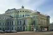 Het mariinsky opera en ballet theater in sint-petersburg, rusland — Stockfoto