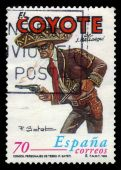El Coyote, spanish fictional character — Stock Photo