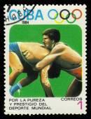 Olimpik spor. greko-romen güreş — Stok fotoğraf
