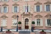 Prince's Guard barracks, Monaco — Stock Photo