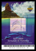 Dolfijnen van Brazilië, fernando de noronha eiland — Stockfoto