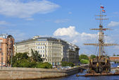Sailboat Flying Dutchman, Saint Petersburg, Russia — Stock Photo