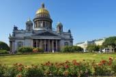 Saint Isaac cathedral in St Petersburg, architect Auguste de Montferrand — Stock fotografie