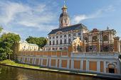 Heilige drievuldigheid alexander nevski lavra, sint-petersburg, rusland — Stockfoto