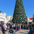 People celebrate Christmas in Nazareth — Stock Photo #55662623