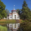 Chinese pavilion in Tsarskoye Selo (Pushkin), Saint-Petersburg — Stock Photo #55945115