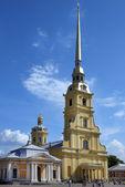 Catedral de pedro e paulo em são petersburgo, rússia — Foto Stock