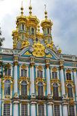 Church of the Resurrection in Catherine Palace in Tsarskoye Selo (Pushkin) — Stock Photo