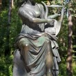 Постер, плакат: Bronze sculpture Terpsichore muse of dance Pavlovsk Park