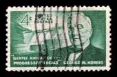 Senator George W. Norris of Nebraska — Stock Photo
