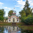 Chinese pavilion in Tsarskoye Selo (Pushkin), Saint-Petersburg — Stock Photo #59212397