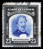 Portrait of Jose Jeronimo Triana, colombian botanist — Stock Photo