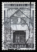 Principal facade of the Casa del Cordon, Burgos — Stock Photo