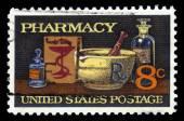 Pharmacy, 19th century medicine — Stock Photo