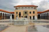Columbus fountain , Ralli Museum in Caesarea, Israel — Stock Photo