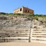 Citadel and antique roman amphitheater, national park Zippori, Israel — Stock Photo #67364627