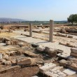 Archaeological excavations, national park Zippori, Galilee, Israel — Stock Photo #67364901