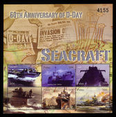 D-day Seacraft — Stock Photo