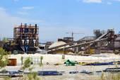 Plant for the production of mineral fertilizers, Dead Sea, Israel — Foto de Stock