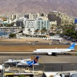 Постер, плакат: Airport and luxurious hotels in Eilat Israel