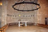 Church of the Multiplication of the loaves and fish, Tabgha, Israel — Stock Photo