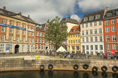 Waterfront of the Old Town, Copenhagen — Stock Photo