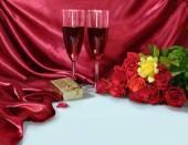 Romantic still-life — Stock Photo