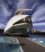 Nauka i sztuka miasta, Valencia, Hiszpania — Zdjęcie stockowe
