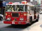 New York City Fire Truck — Stock Photo