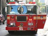 New York City Fire Truck — Stock Photo