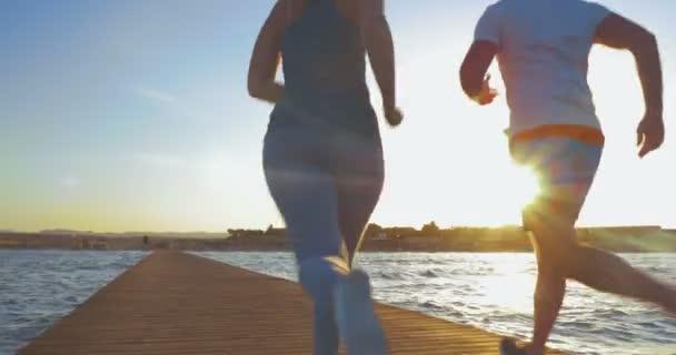 Deep Breath after Jogging — Vídeo de stock