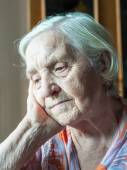 Old grandmother — Foto Stock