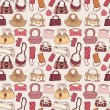 Women handbags. Seamless pattern. — Stock Vector #52725217