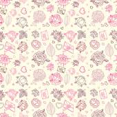 Seamless wedding patterns. — Vecteur