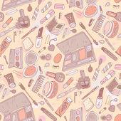 Beauty-Produkte. Kosmetik. — Stockvektor