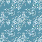 Seamless Paisley background. — Stock Vector