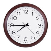 Quarter to eight on the clock — Foto Stock