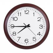 Quarter to eight on the clock — Stock Photo