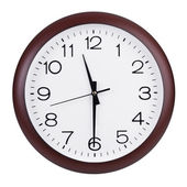 Half past eleven on the clock — Stock Photo