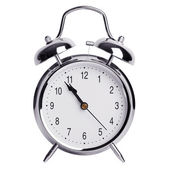 Five minutes to eleven on a alarm clock — Stock Photo