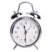 Half past eleven on an alarm clock — Stock Photo