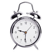 Half past nine on an alarm clock — Foto de Stock